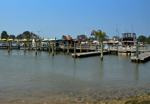 Boat Parking At The Big Owl In Grasonville Maryland