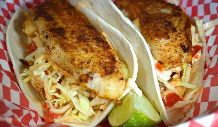 The Big Owl Fish Tacos