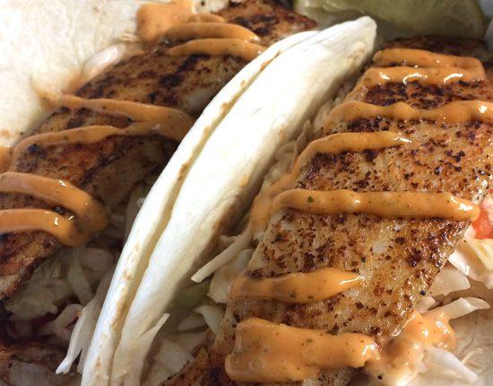 The Big Owl Fish Tacos